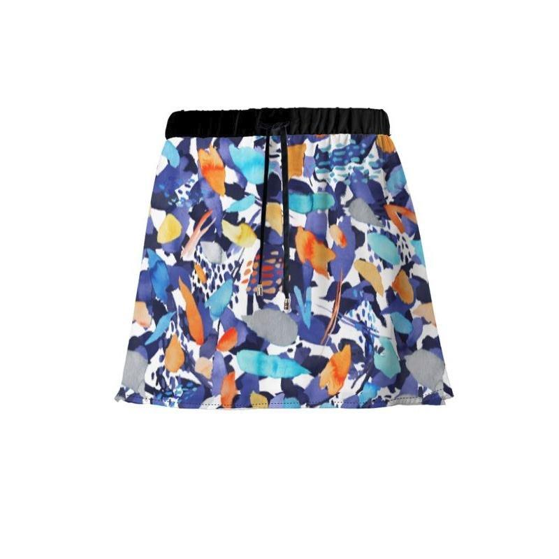 Impression de votre design sur la jupe fluide