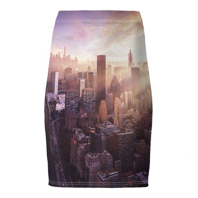 オリジナルデザイン スリムスカートに印刷