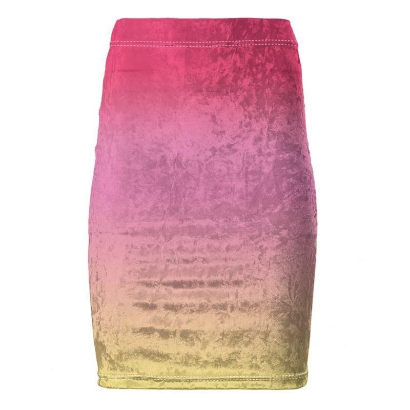 crear faldas larga de tubo