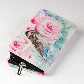 womens zip around wallet