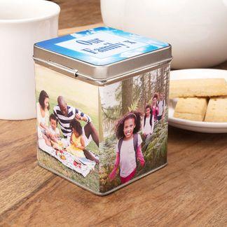 Boîte à thé cadeau pour nounou