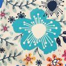 Custom printed solange silk jersey