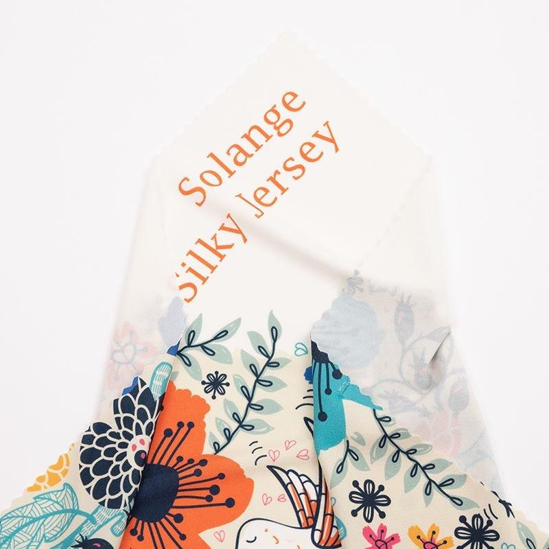 silk jersey fabric