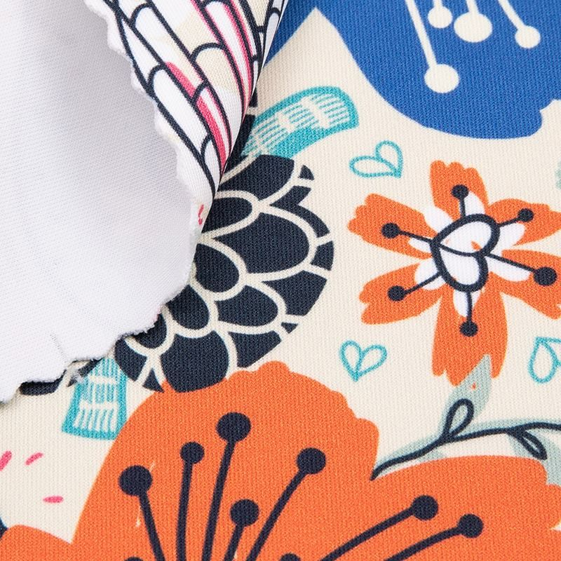 printed sports jersey fabric