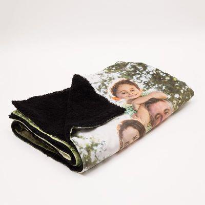 Personalised Faux Fur Blankets