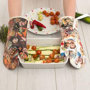 guantes de cocina personalizados