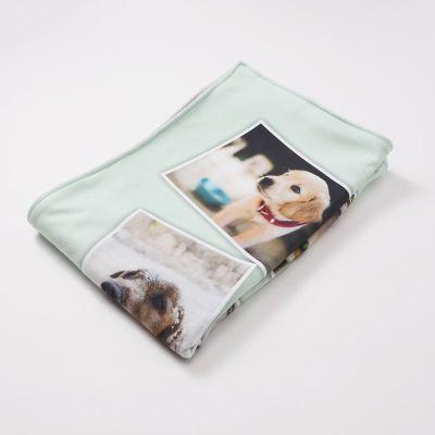 gepersonaliseerd deken kinderwagen
