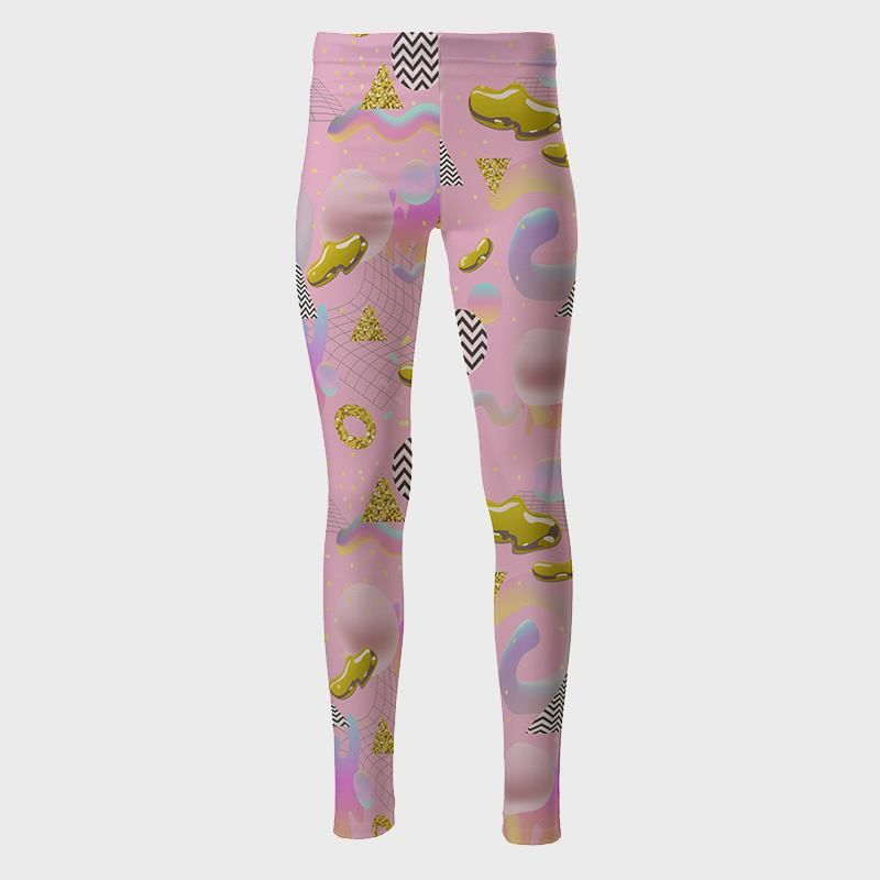 Cindy High Waisted Printed Leggings