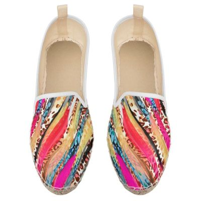 flache espadrille slipper