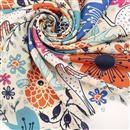 Tissu crêpe léger imprimé avec votre design