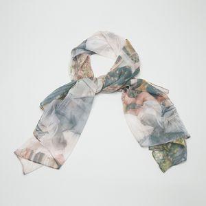 personalised  silk scarf