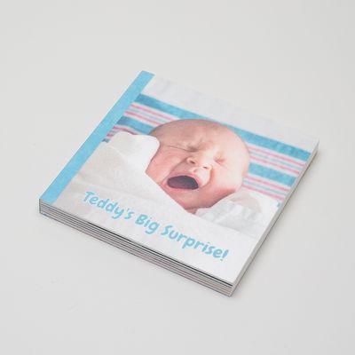 Libro in Feltro Personalizzato Per Bambini
