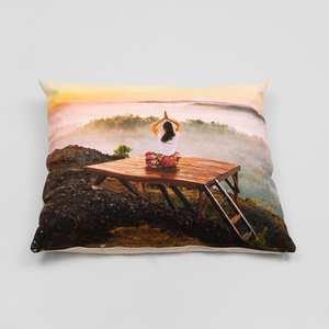 personalised yoga pillow