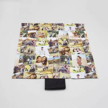 Couverture personnalisée pique nique avec photo