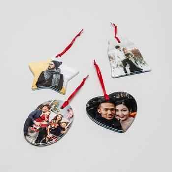 gepersonaliseerde kerst ornamenten