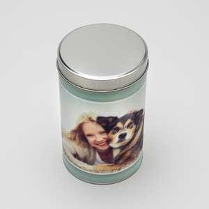 Design Your Own Dog Treat Tin