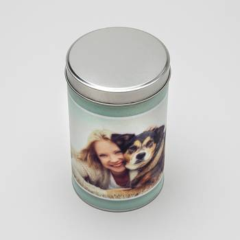photo treat tin