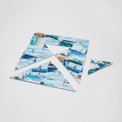 tangram puzzle mit eigenem foto