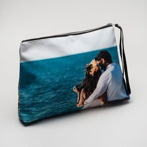 gepersonaliseerde clutch tas met foto