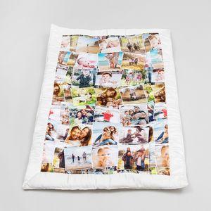 Gepersonaliseerde foto quilts online