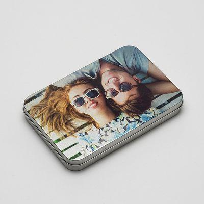 caja metálica personalizada fotos