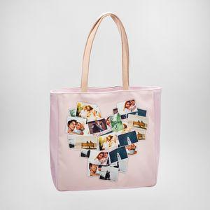 shopper handtasche bedruckt mit fotocollage