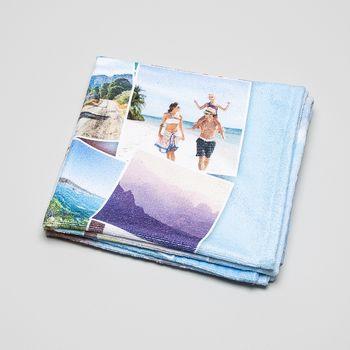 handtuch bedruckt mit fotocollage