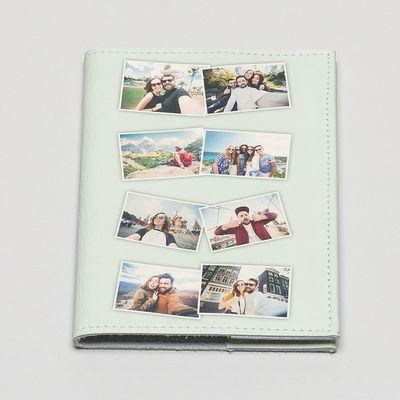gepersonaliseerde paspoorthoes met collage