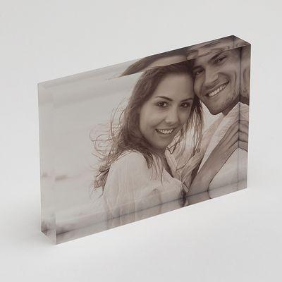blocco acrilico con foto