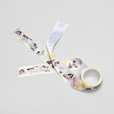 personalised wedding ribbon