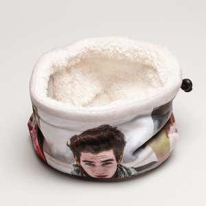 gepersonaliseerde ronde sjaal polar fleece
