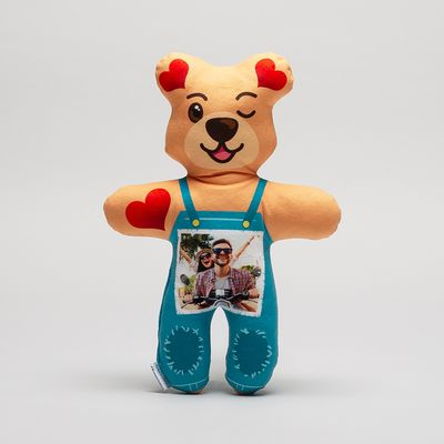 Personalised Christmas teddy bear