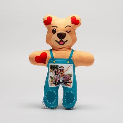 Teddybär mit fotos bedrucken lassen