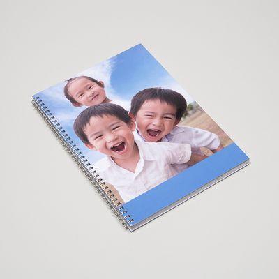 cuaderno con anillas
