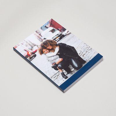 anteckningsbok med eget omslag