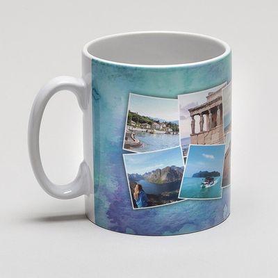 personalised collage mug