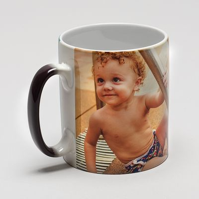 personalised heat changing mugs