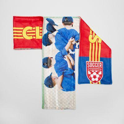 design football scarfs for kids