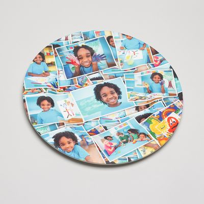 plato pared decorativo fotos impresas regalo