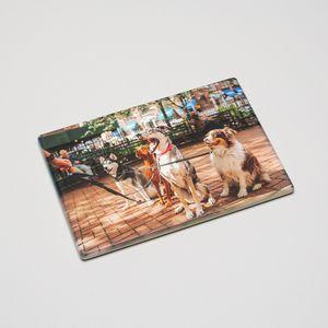 printed glass chopping board