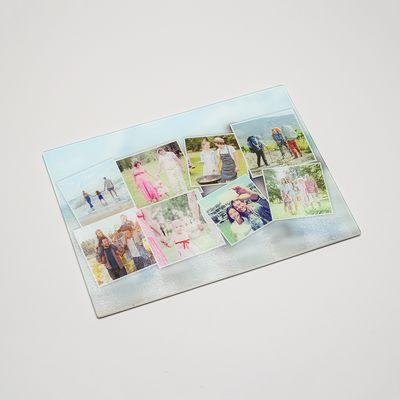 Tagliere personalizzato con Foto Collage