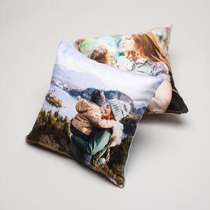 personalised wedding pillow set