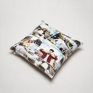 custom printed throw pillows set