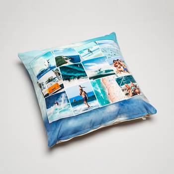 photo collage cushion