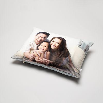 personalised rectangle cushion