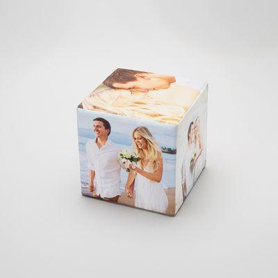 gepersonaliseerde foto kubus