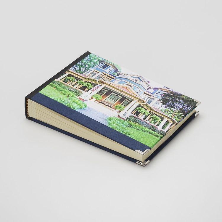 custom visitors guest book