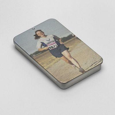 Custom photo mint tins