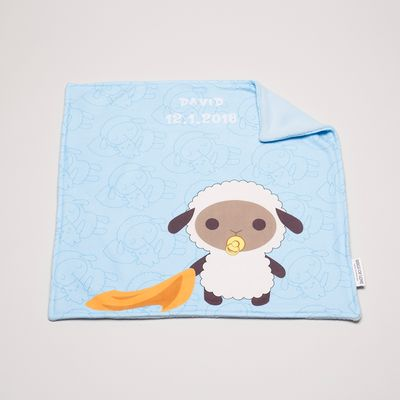 personalised baby comfort blankets
