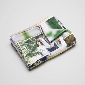 fotodecke bedrucken lassen als geschenk für opa